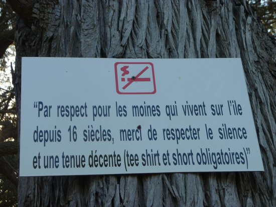 Iles de Lerins: le calme