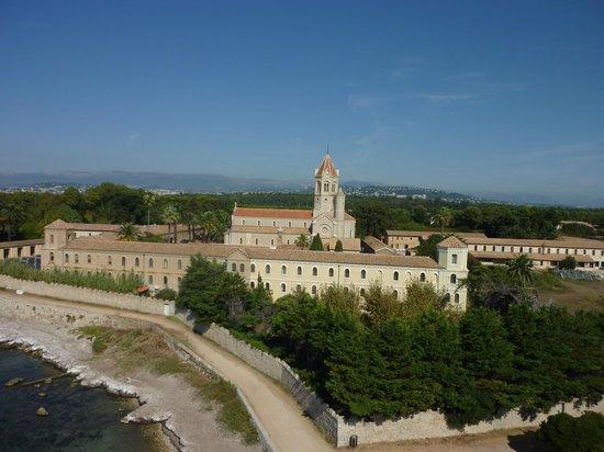 Iles de Lerins: l'abbaye de Saint honorat