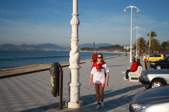 Playa Samil: Paseo