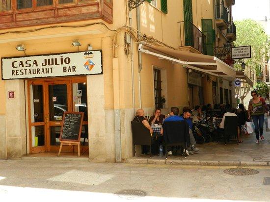 Casa Julio: calle tranquila