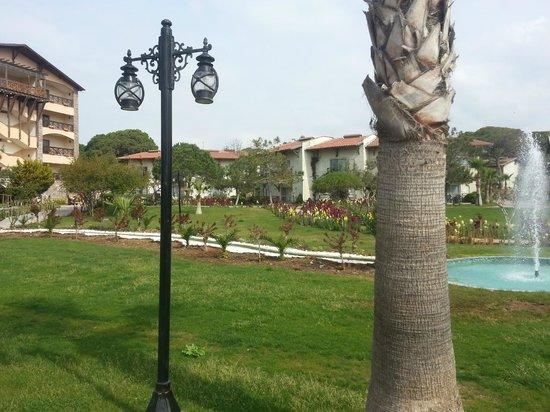 Papillon Belvil Hotel : inner gardens