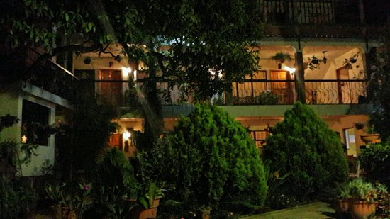 Hotel Cacique Ralon: La vista nocturna