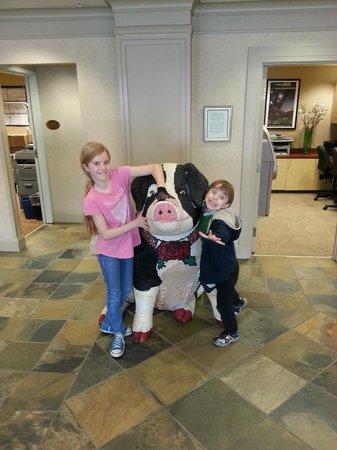 Silver Cloud Inn Seattle - Lake Union: Lobby Pig