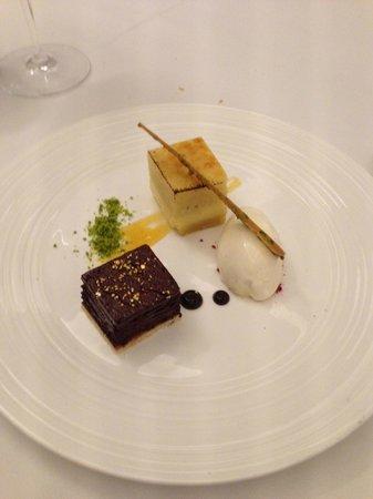 The Lyttelton: Dessert - chocolate!