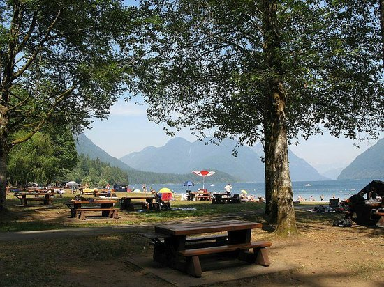 Golden Ears Provincial Park: Picnic areas