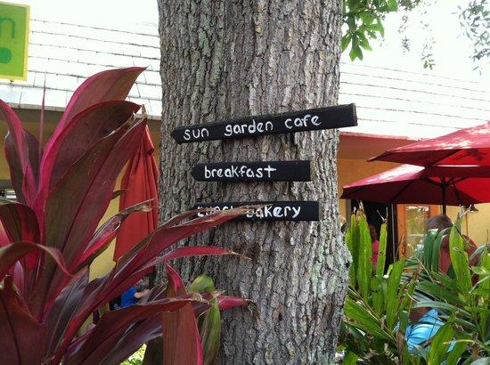 Sun Garden Cafe : Delicious!