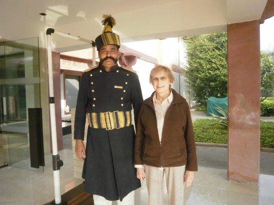 Trident, Agra: Front Doorman