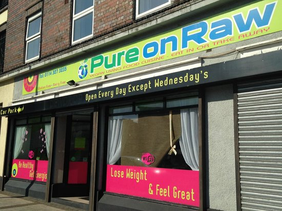 Pure on Raw: Shop front