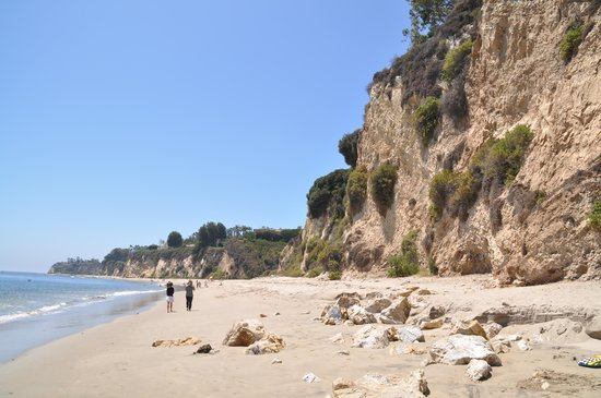 Paradise Cove : Vue de la plage