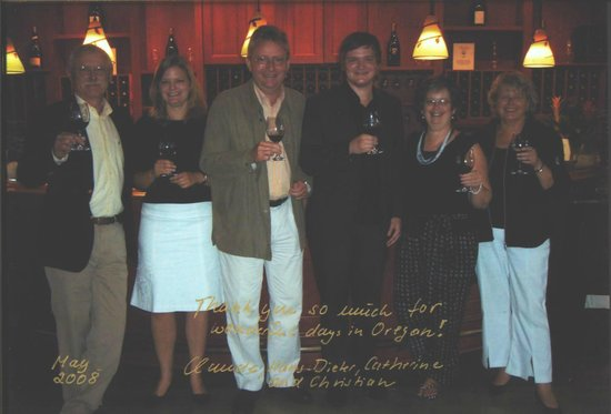 Γιουτζίν, Όρεγκον: We hosted friends from Germany. They visited many wineries in CA. said, why didn't we just come