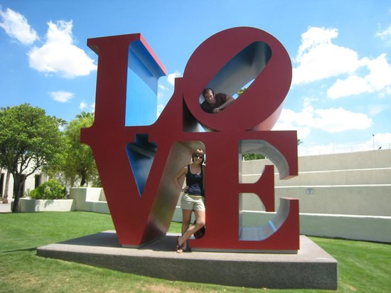 Old Town Scottsdale: The Love Sculpture