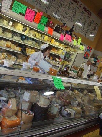The Strip District: Cheese Counter at Pennsylvania Macaroni