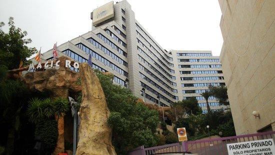 Magic Aqua Rock Gardens: vista del hotel