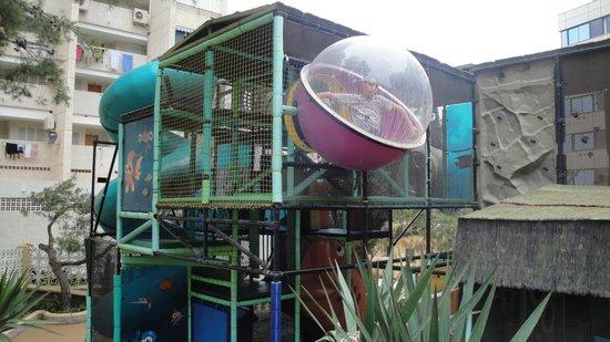 Magic Aqua Rock Gardens: parque infantil
