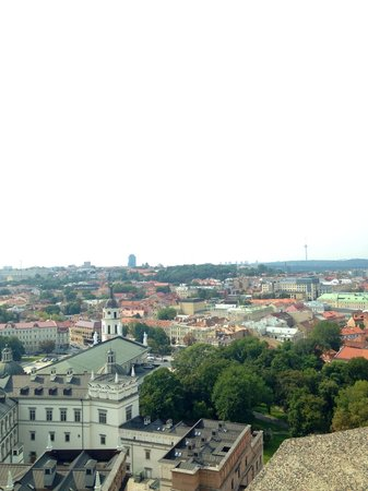 Gediminas Tower : View from the top