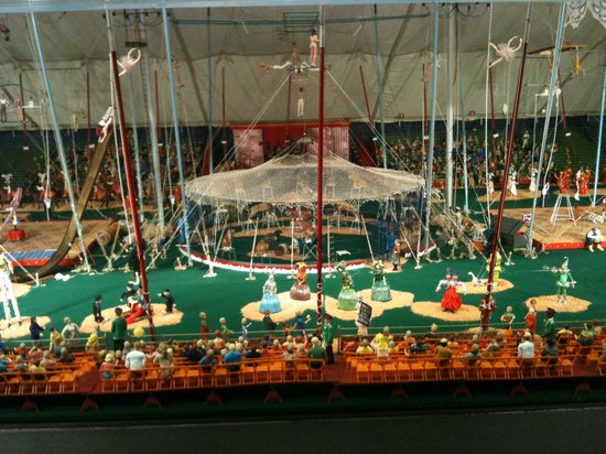 The Ringling: Under the big top at the miniature circus display