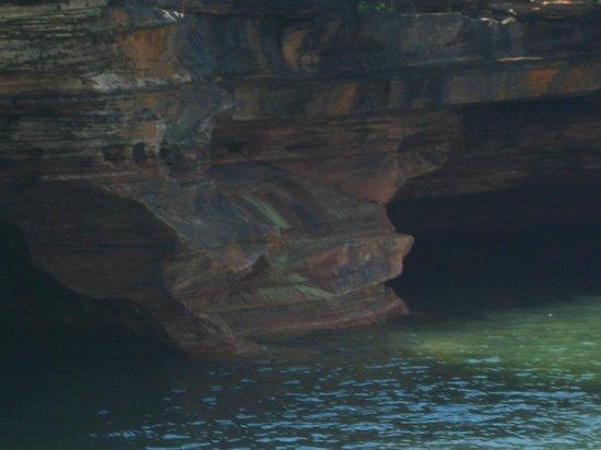 Lake Superior : gushing