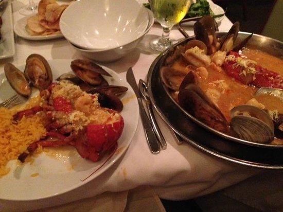Forno's of Spain Restaurant: mariscada Fornos