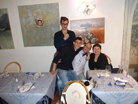 Ristorante Mediterraneo: Great dinner and great service on our last night in Positano