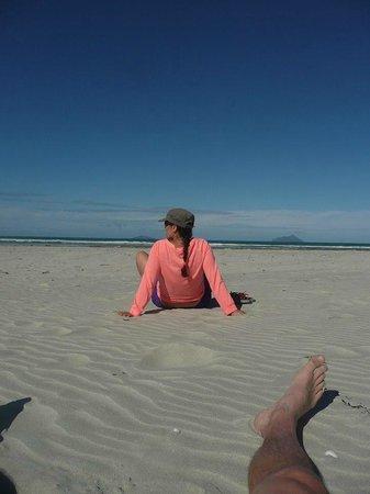 Ruakaka Beach : admiring the world