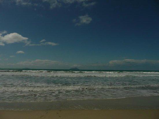 View from Ruakaka beach