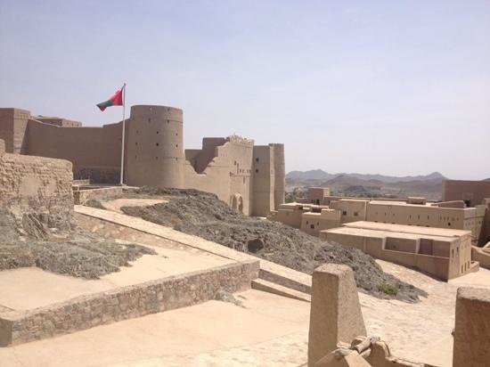 Bahla Fort: great views