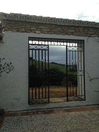 Cortijo Las Piletas: open sky