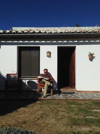 Cortijo Las Piletas: morning sun