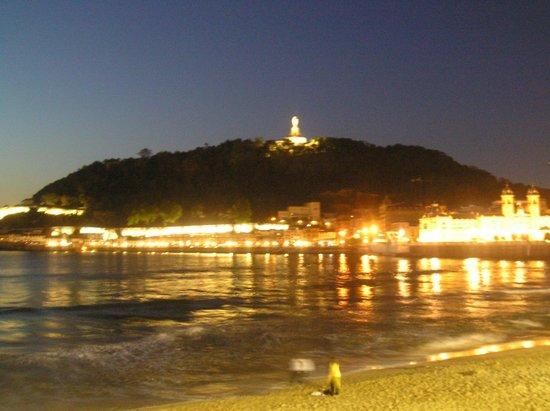 La Concha Beach : La noche