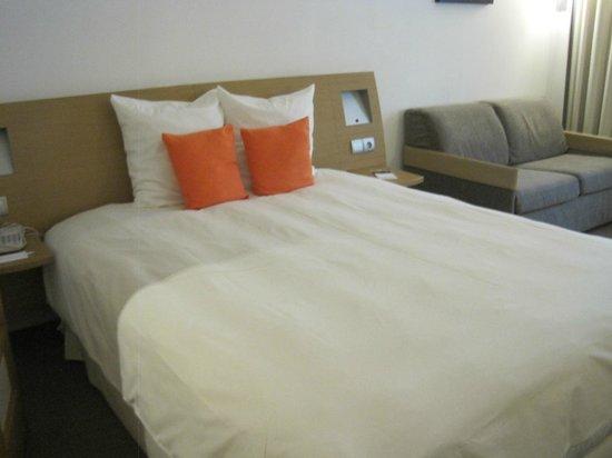 Novotel Casablanca City Center : nice bed