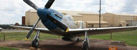 Barksdale Global Power Museum: P-51 Mustang