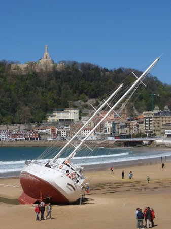 La Concha Beach : No es lo habitual