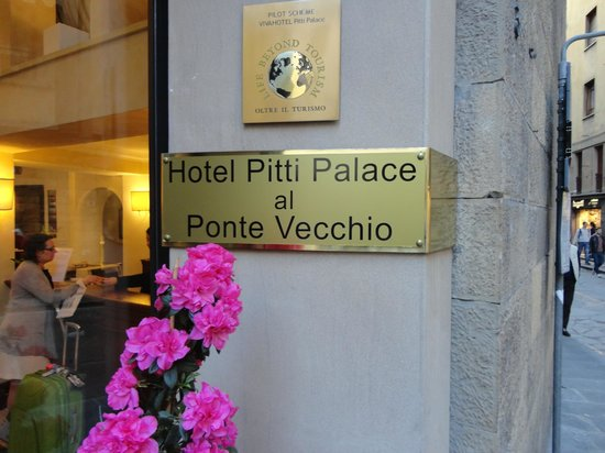 Pitti Palace al Ponte Vecchio : Entrada
