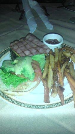 Fridas Grill and Cantina: fridas burger