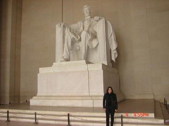 Lincoln Memorial: Vista