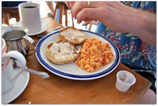 Amor y Cafe: Husband's breakfast, also good.