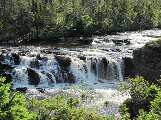 Rocky Harbour, Canadá: Gros Morne Bakers brook falls