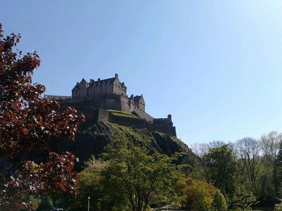 Edinburgh Castle: one of many