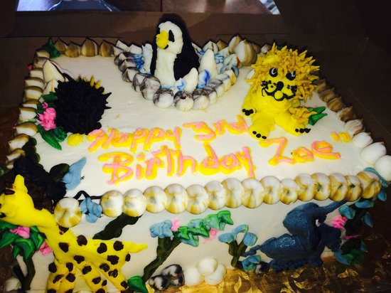 Terrific Zoo Inspired Birthday Cake Picture Of Southern Girl Desserts Funny Birthday Cards Online Eattedamsfinfo