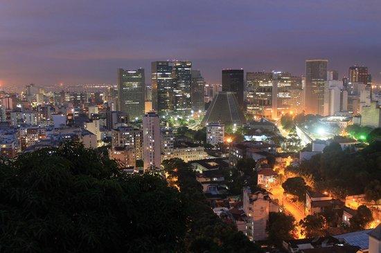 Terra Brasilis Hostel : Demasiado bella la vista
