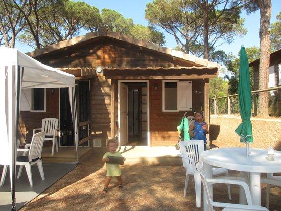 Camping La Siesta - Calella de Palafrugell : Bungalow