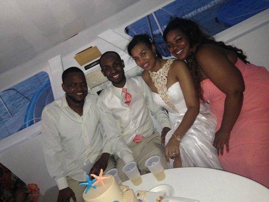 Sebago Key West: Cake Ceremony, Best Man & Maid of Honor, Champagne Toast!