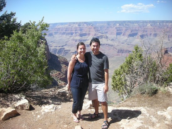 Grand Canyon Railway: Mike & Jenna