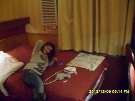 Hotel Nadia: il letto matrimoniali