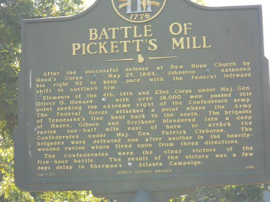Pickett's Mill Battlefield: Battle of Pickett's Mill