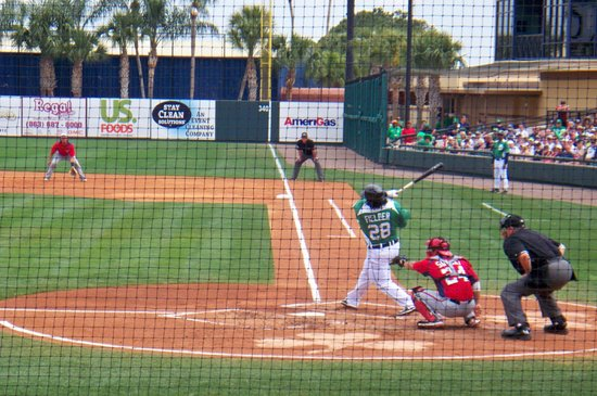 Joker Marchant Stadium: Spring training game. Detroit vs Washington