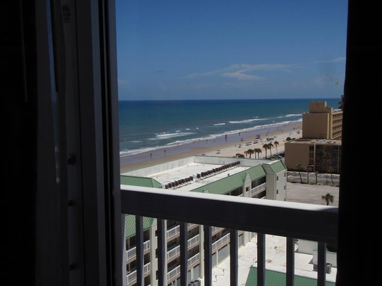 Daytona Beach Resort and Conference Center: view from North Tower looking south