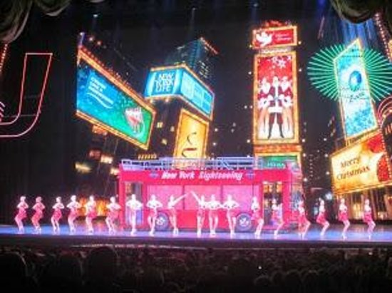 Radio City Music Hall : Radio City Christmas play