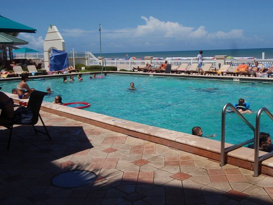 Daytona Beach Resort and Conference Center: one of two outdoor pools