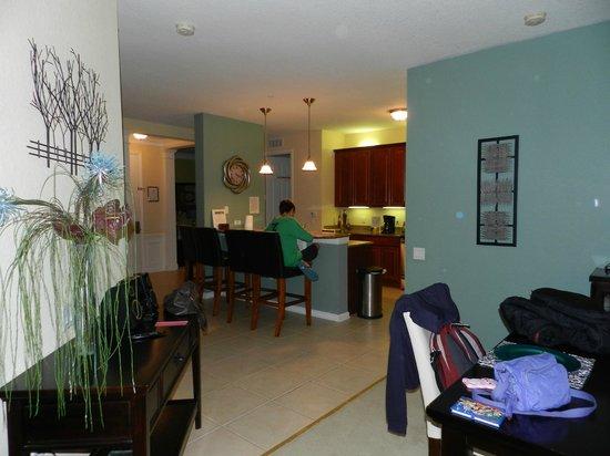 Vista Cay: Vista da cozinha